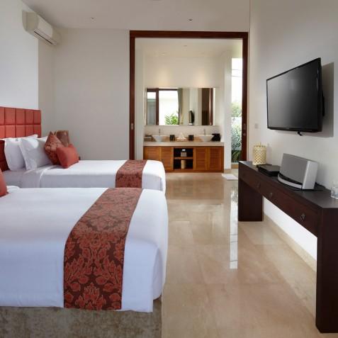 Bedroom Two - Cocoon Villa - Cocoon Medical Spa Retreat, Seminyak, Bali