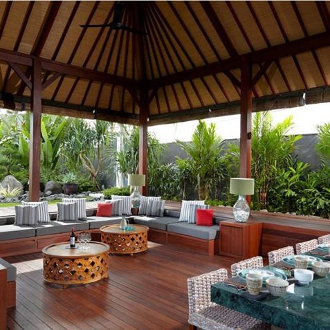 Outdoor Living - Cocoon Villa - Cocoon Medical Spa Retreat, Seminyak, Bali