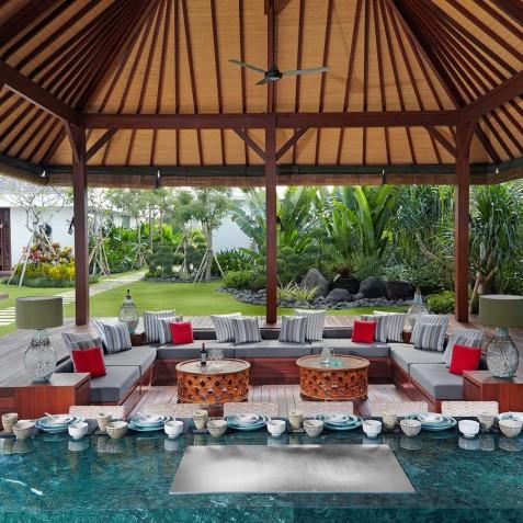 Tepannyaki Dining Area - Cocoon Villa - Cocoon Medical Spa Retreat, Seminyak, Bali