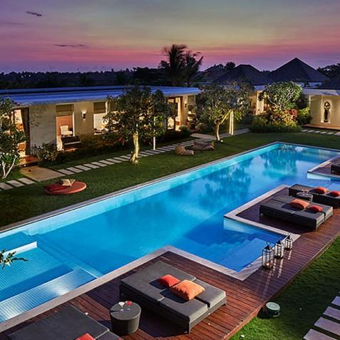 Sunset - Cocoon Villa - Cocoon Medical Spa Retreat, Seminyak, Bali