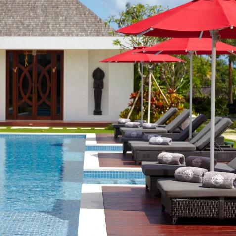 Poolside - Cocoon Villa - Cocoon Medical Spa Retreat, Seminyak, Bali