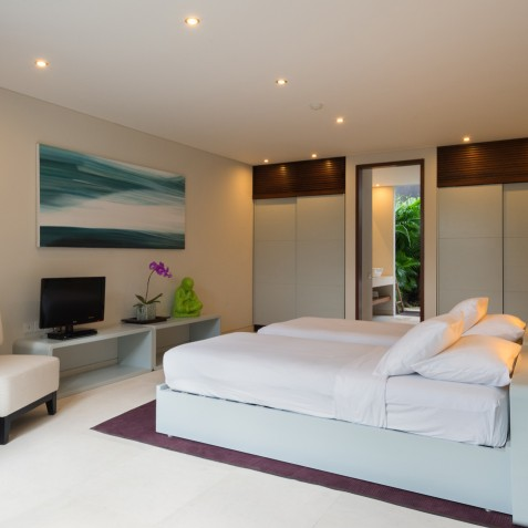 The Layar - 4 Bedroom Villa - Bedroom Four - Seminyak, Bali