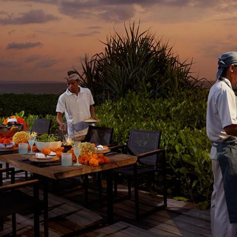 Villa Ambra Bali - Alfresco Dining BBQ - Pantai Lima Estate, Canggu, Bali, Indonesia