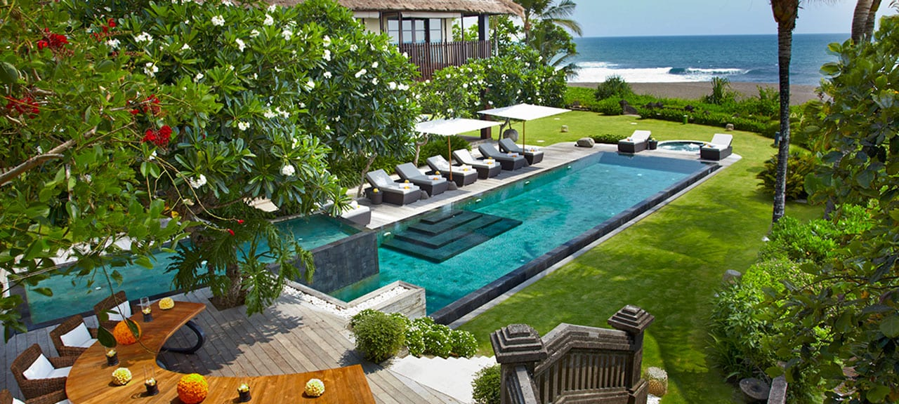 Villa Ambra Bali - Pool & Beach View - Pantai Lima Estate, Canggu, Bali, Indonesia