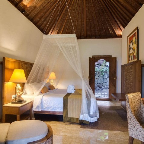 Deluxe Room Interior - Svarga Loka Resort, Ubud, Bali, Indonesia