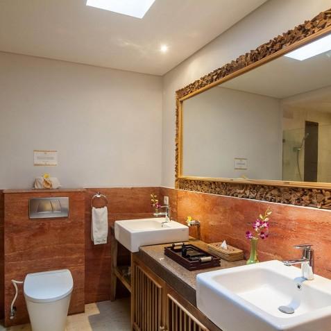 Junior Suite Bathroom - Svarga Loka Resort, Ubud, Bali, Indonesia