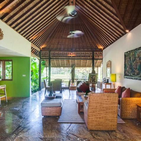 Master Suite Living Area - Svarga Loka Resort, Ubud, Bali, Indonesia