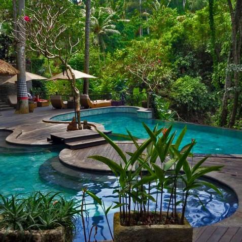 Svarga Loka Resort Pool - Ubud, Bali, Indonesia