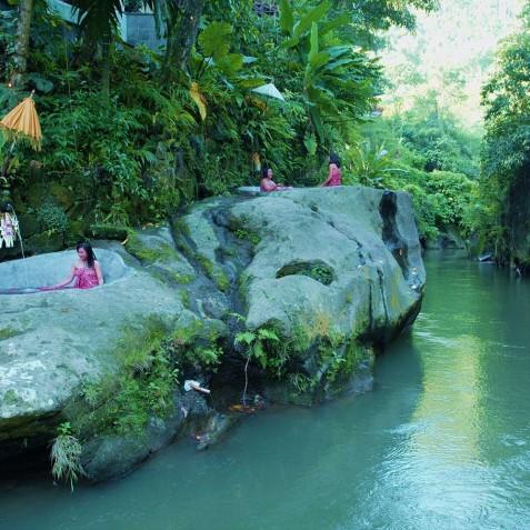 Svarga Loka Resort - Rock Baths - Ubud, Bali, Indonesia