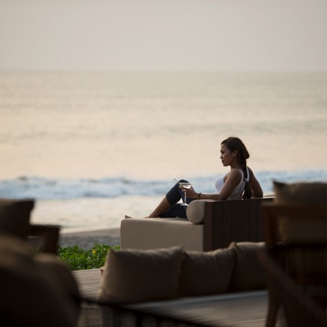 Beach Bar - Alila Seminyak, Bali, Indonesia