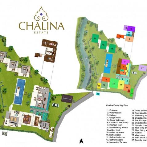 The Chalina Estate Floorplan