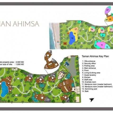 Taman Ahimsa - Seseh-Tanah Lot, Bali, Indonesia