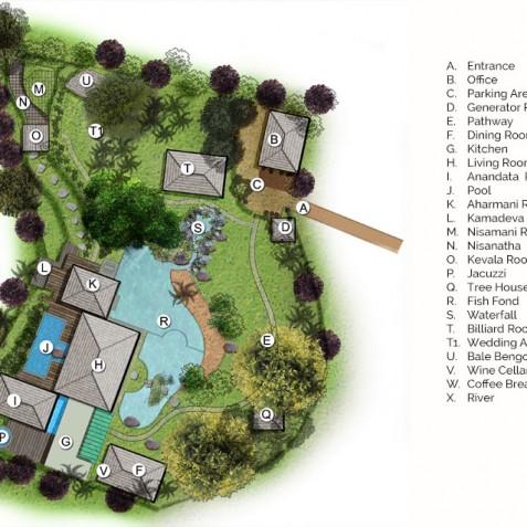 Villa Kamaniiya Floorplan