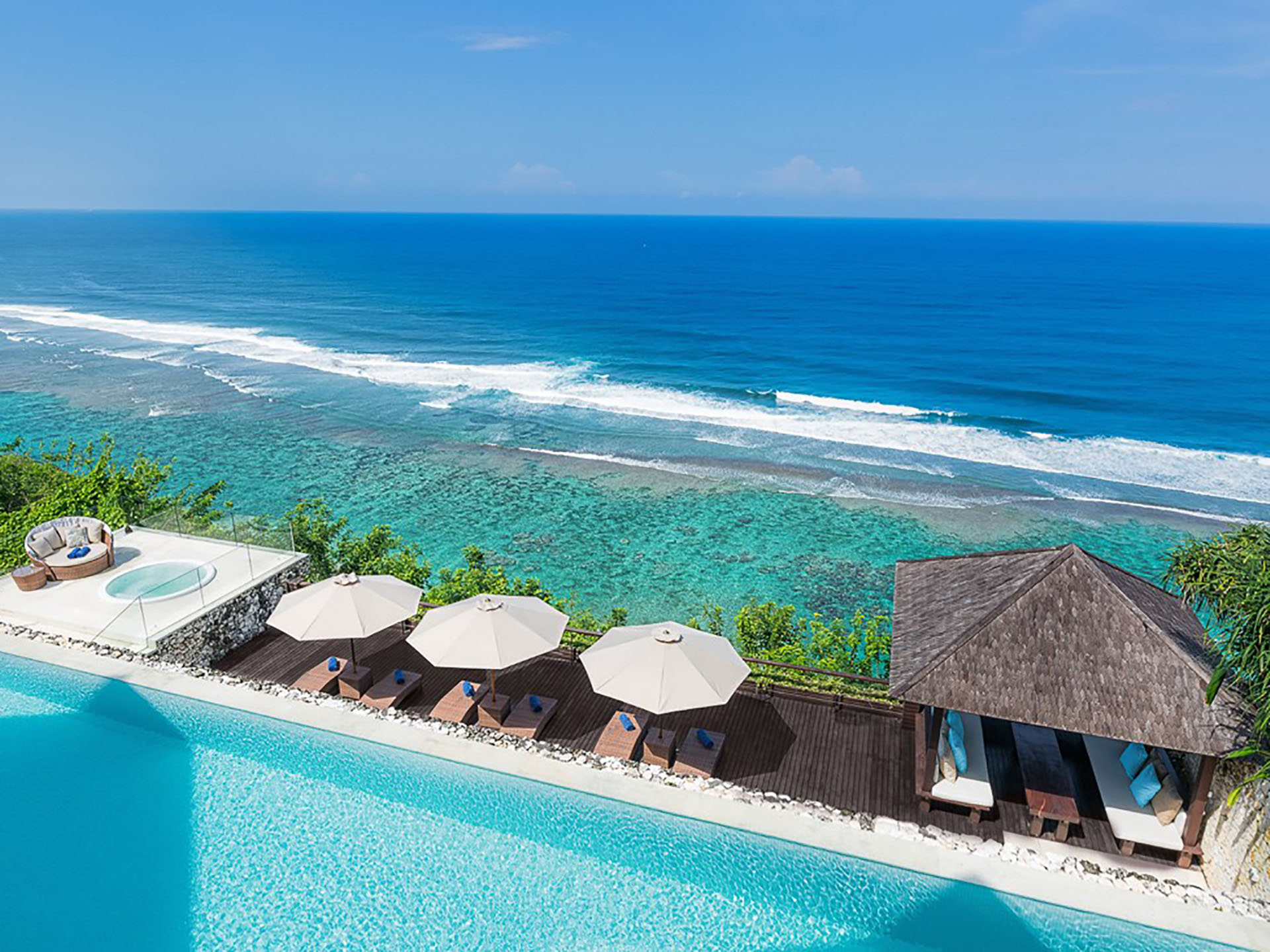 Grand Cliff Ungasan - Bali Luxury Villas